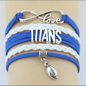 Jewelry - 🏈 New list! 🏈 Titans bracelet